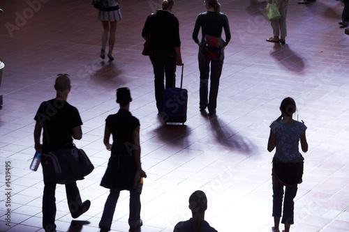 traveller silhouette