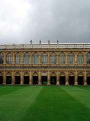 View of building at Cambridge University