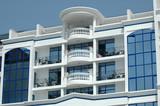 hotel balcony poster