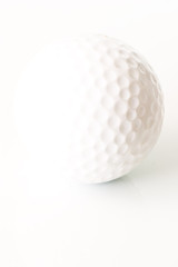 isolated golfball