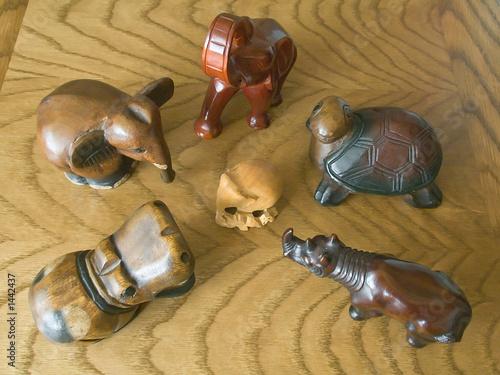 alien - wooden toys