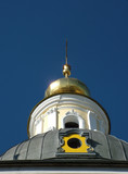 colorful orthodox dome poster