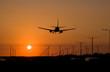 sunset jet landing 1