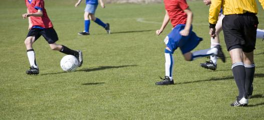 girls soccer match