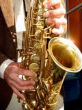 playing jazz poster