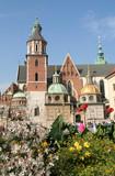 wawel castle, krakow, poland poster