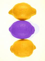 3 citrons,2 jaunes,1 violet