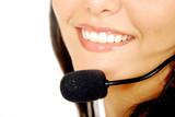 customer service close up poster