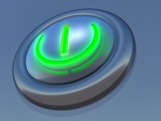 3d button