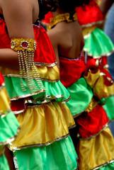petites filles de carnaval