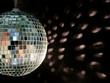 Leinwanddruck Bild - disco ball reflections