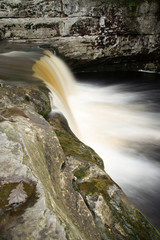 waterfall in yorkshire dales