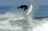surfer getting air poster