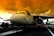 Fototapete Hobeln - Kennedy - Flugzeug