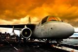 Fototapeta Samolotem - wiking - Samolot