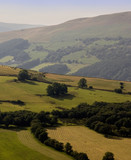 brecon beacons national park wales poster
