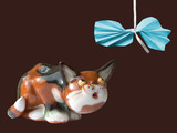 kitty and bow poster