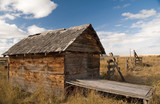 rustic shed 1 poster