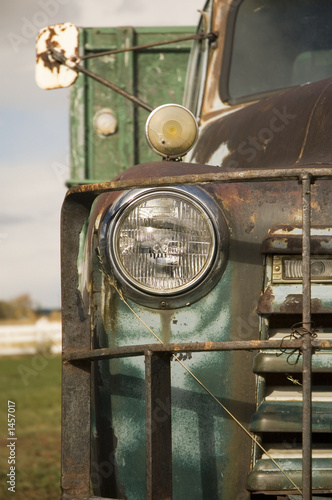 poster of rustic truck 2