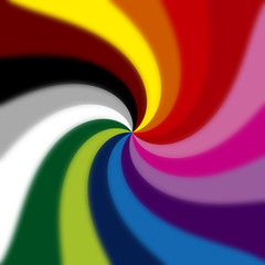colored spiral