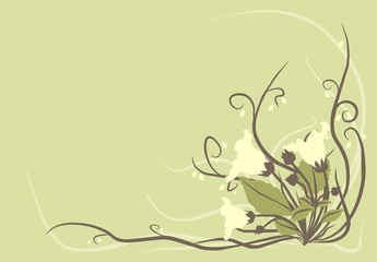 decorative flowers background