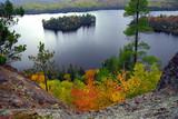lake scenery poster