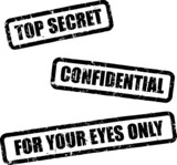 top secret stamps poster