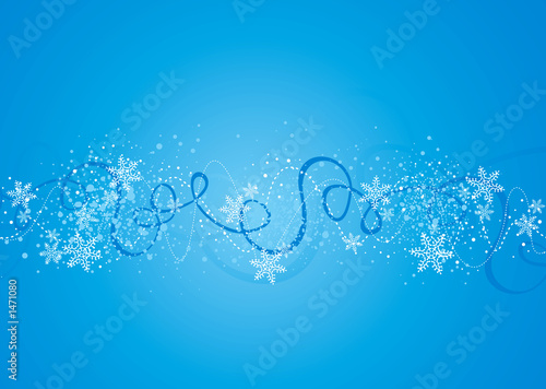 canvas print picture winter background illustration