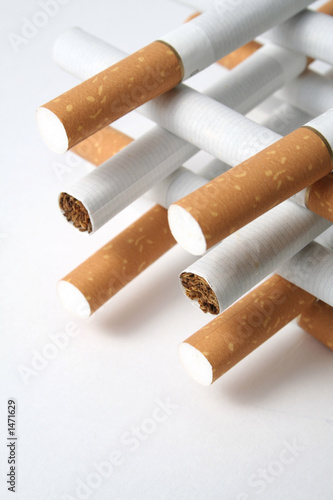 smoking of cigarettes