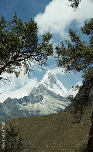 peak caraz in the cordilleras
