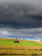 countryside before rain