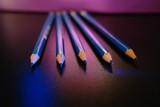 five pencils poster