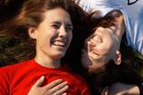 laughing girls poster