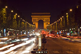 Fototapety arc de triomphe and champs-elysees