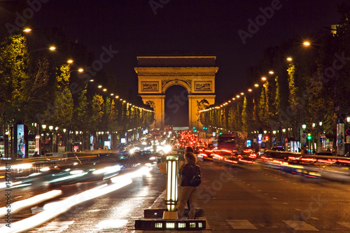 arc de triomphe and champs-elysees