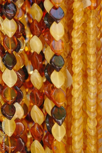 poster of amber necklaces