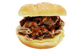 barbecue sandwich poster