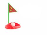 toy golf set poster