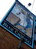 blue jazz poster
