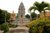 royal palace, phnom pen, cambodia poster