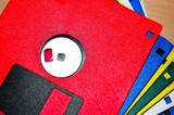 disk vives couleurs2 poster