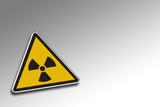 warning radioactive poster