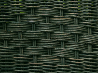 greenish old wicker texture