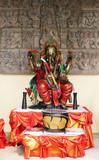 buddhist shrine poster