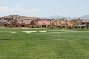 golf course neighborhood