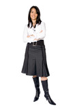 business woman full body poster