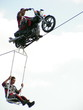 two stunt man