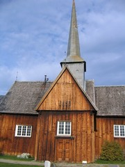 old norwegian church