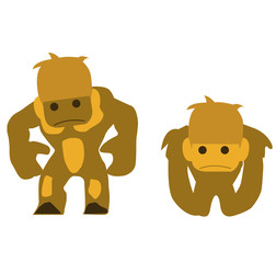 two monkies
