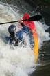 kayak en action